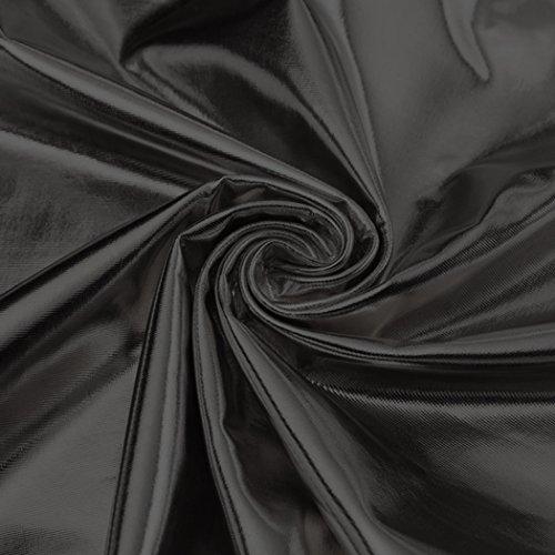 Lomon Débardeur brillant metallique bretelles fines femme Noir
