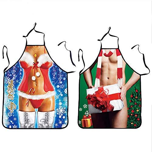 Sexy delantal navidad Delantal adultos Cute Christmas