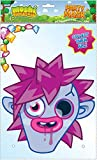 Moshi Monsters Masque en carton brillant de qualité avec trous pour les yeux, bande élastique–taille env. 30x 21cm