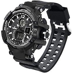 For Men Wrist Watch, BZLine ® Newest Fashion Men's Rubber Band LED Digital Sports Waterproof Diving Quartz Wrist Watch