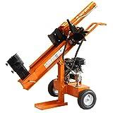 Heavy Duty 22Tonnen Benzin Holzspalter hydraulisch 4Way Cutter, 6,5PS nachziehbar