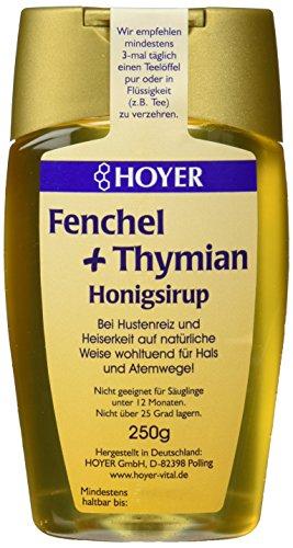 Hoyer Bio Fenchel & Thymian Honigsirup  (1 x 250 g)