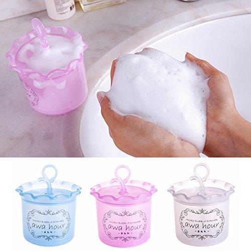 Foam Maker Cup, plastica viso Clean Tool detergente Bubble Foamer Deep Clean, per tutti i tipi di pelle