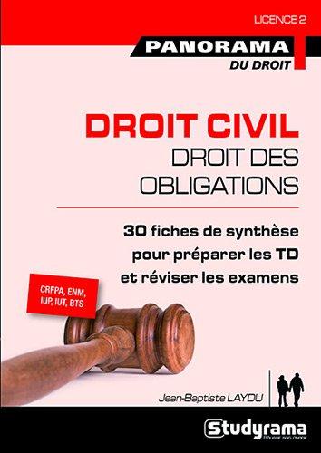 Droit civil, droit des obligations