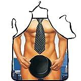 Bazaar waschbar 3d des Muskel Oberschenkel Schürze nackt musculoso Männer Küche kochen Grill Schürze Geschenk Für Bräutigam