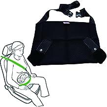 Yober Cinturón de Seguridad para Embarazada en Coche Adaptador con Cojín para Protege a Mamá y Evita Apretar al Bebé