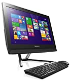Lenovo C40-05 21.5-Inch All-in-One Desktop Black AMD A4-6210, 4GB RAM, 1TB-7GB hybrid drive, Full HD, Windows 8.1