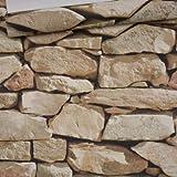 Papel De Pared Vintage Papeles De Pared Impermeables Decoración Para El Hogar 3D Imitación Roca Piedra Papel Pintado De Vinilo Para Paredes 3D 5.3㎡ Wp673 C