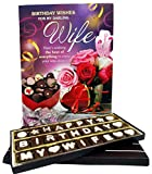 #7: Birthday Chocolate Gift for Wife with Greeting Card