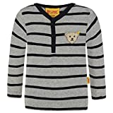 Steiff Collection Jungen Langarmshirts T-Shirt 1/1 Arm Mehrfarbig (y/d Stripe 0001), 116