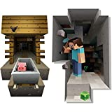 Minecraft vinyl wall graphics mining 2-pack Minecraft graphiques muraux en vinyle minier 2-pack