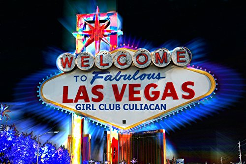 Inspired Walls Las Vegas Sign Giant Poster - A5 A4 A3 A2 A1 A0 Größen - Las Vegas Sign