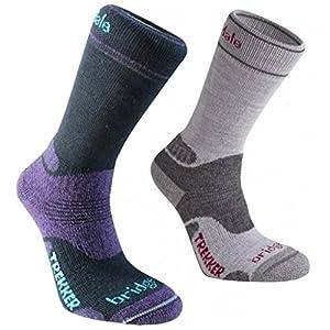 bridgedale woolfusion socks twin pack womens