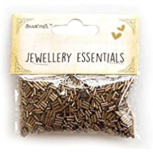 Itsy Bitsy Glass Bugle Beads, 5mm, Pack of 2