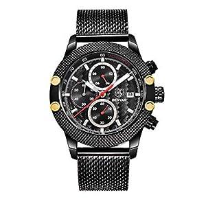 Fitness Tracker Sport Uhr Elektrische Chronograph Wasserdicht Quarz Uhren Automatik Mesh Band wasserdichte Smartwatch Intelligente Armbanduhr Armband DIKHBJWQ für Herren Damen