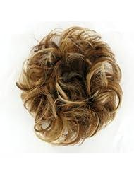 chouchou cheveux châtain cuivré méché blond clair ref: 17 en 6bt27b