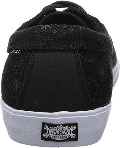 Lakai Camby, Chaussures de skateboard homme Noir (Black Paisley Canvas)