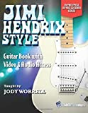 Jimi Hendrix Style Guitar Book with Video & Audio Access