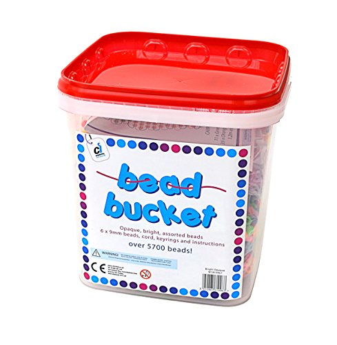 CI W1810967 5700 Beads and Accessories Opaque Bucket Set with Project Sheet  Multi-Colour