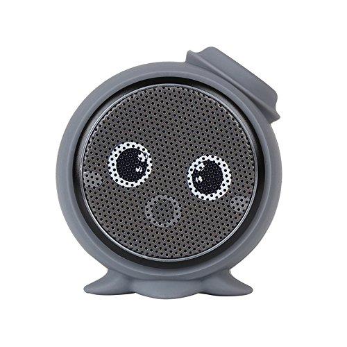 Myoyo Bluetooth Lautsprecher Kreative Outdoor Automotive Cartoon Audio Mini Tragbare Bass Kanone,Black