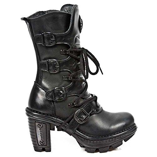 New Rock Neotrail Schwarz Stiefel M.NEOTR005-S8 BLACK, BLACK