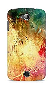 Amez designer printed 3d premium high quality back case cover for Acer Liquid Z530 (canvas art paints)