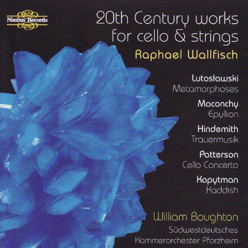 20th Century Works for cello and strings