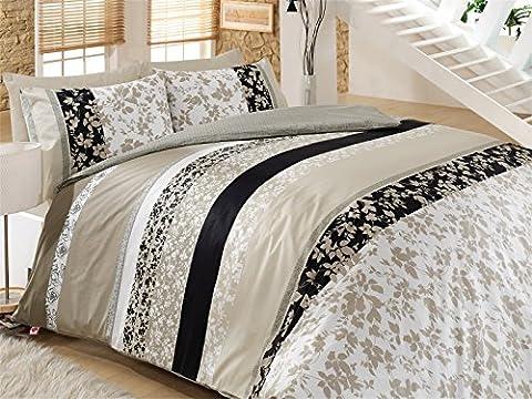 Deborah 100% Cotton Duvet Cover Bedding Set in Luxury Box (Super King)
