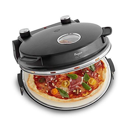 Horno para pizzas Peppo de Springlane Kitchen Máquina para preparar pizzas...