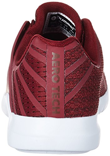 Hummel Aerofly Mx120, Sneakers Basses Mixte Adulte Rouge (Cabernet)