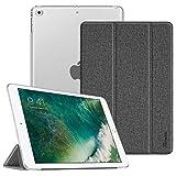 Fintie Hülle für iPad 9.7 Zoll 2018/2017 - Ultradünn Schutzhülle mit transparenter Rückseite Abdeckung Cover mit Auto Schlaf/Wach für 9.7