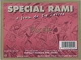 France Cartes - 400254 - Jeu De Cartes - Spécial Rami  2 Jeux En Coffret Plastique - 54 Cartes