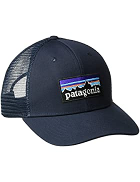 Patagonia P-6 Logo Trucker Gorra, Unisex Adulto, Azul (Navy), Talla Única