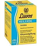 Luvos-Heilerde imutox Spar-Set 2x180 Kapseln. Zur Unterstützung des Organismus bei der Körperentgiftung durch Bindung von Schadstoffen und Umweltgiften aus der Nahrung.
