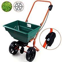 Streuwagen | Modellauswahl | 25L | Streubreite einstellbar | praktische Abstellfüße - Saatgutstreuer Düngerstreuer für Salz Dünger Rasen Split Saatgut