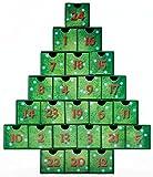 Calendrier de l'Avent Coffre au Trésor Arbre de Noël...