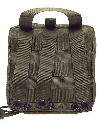 HWB/ 0.4 L Hüfttaschen Camping & Wandern / Klettern / Jagd / Reisen / Notfall / Sicherheit / Laufen DraußenWasserdicht / Staubdicht / army green