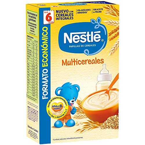 Nestlé Multicereales - Papilla cereales instantánea