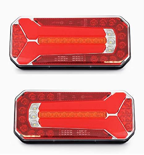 Luci Posteriori a LED Multifunzione, 12 V, 24 V.