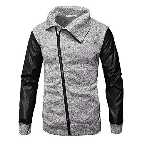 Discount Boutique Herbst und Winter Pullover Kragen Reißverschluss Herren Langarm Freizeithemd dünne Jacke