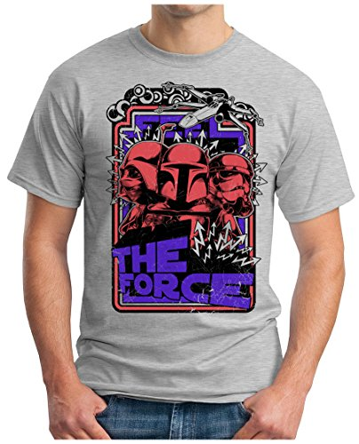OM3 - THE-FORCE - T-Shirt STORMTROOPER PARODIE EMPIRE DARTH VADER SciFi SWAG
