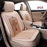 Lot de 2 Housses de siège Auto pour Hilux Juke Navara Qashqai Camry C-HR Corolla...