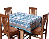 Chhipa 100% Cotton Rectangle Table Coral...