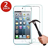 [2 Pack of] ProGadgetsLTD Apple iPod Touch 4th Generation Screen Protector - 2X 100% Genuine Gorilla Tempered Glass Screen Protector Guard [2.5D Round Edge] [9H Hardness] [Crystal Clearity] [Scratch-Resistant] [No-Bubble] [Anti-dust]