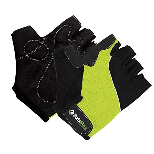 Bodymax Performance Grip Lycra Gloves (L)