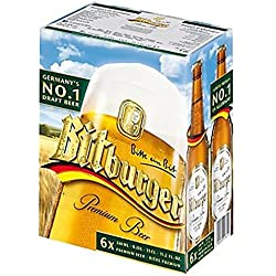 Bitburger 4,8 ° 33 cl - 6 x 33 cl
