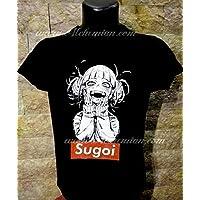 Sugoi, maglia nera, maglietta t-shirt, felpa, canotta, Boku No Hero Himiko Toga