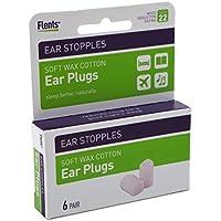 Flents Ohr stopples 6S weichen wax-cotton Ohr Stecker (2Stück) preisvergleich bei billige-tabletten.eu