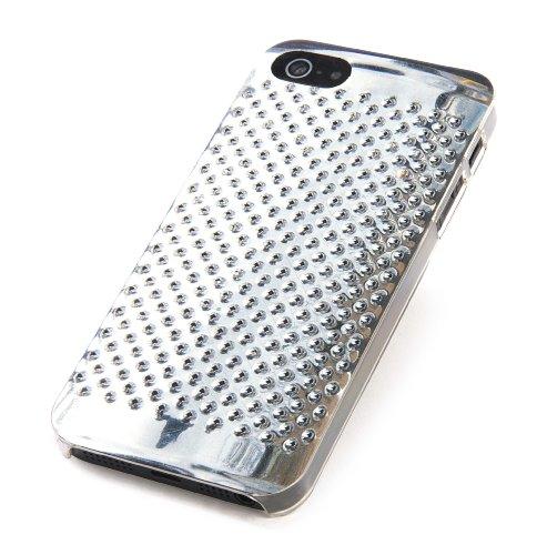 Tucano IPH5-D-CA Delikatessen Hartschalencase für Apple iPhone 5/5S Wood Box Metallisch