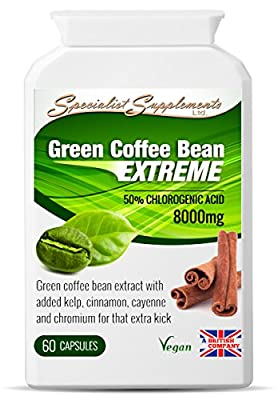Green Coffee Bean EXTREME caps from Specialist Supplements